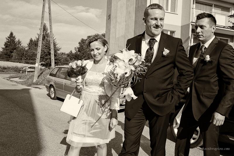 Reportaż ślubny - Pan Młody
