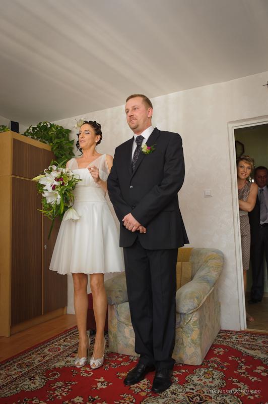 Reportaż ślubny - Państwo Młodzi