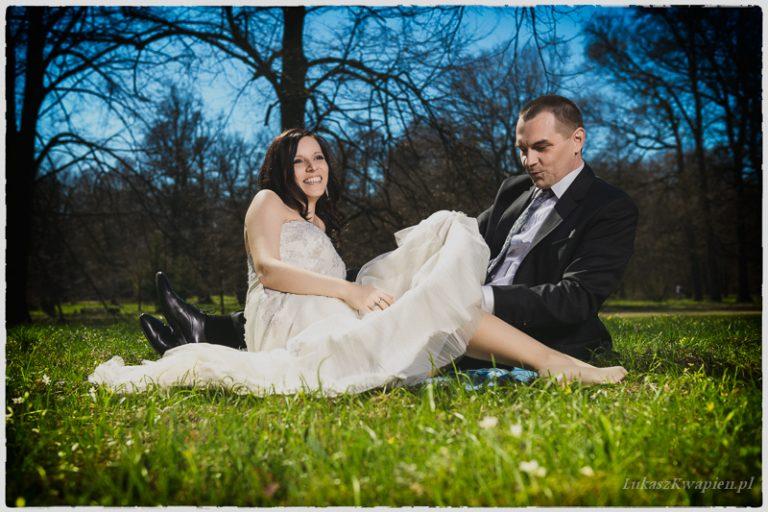 Asia i Zbyszek | plener ślubny