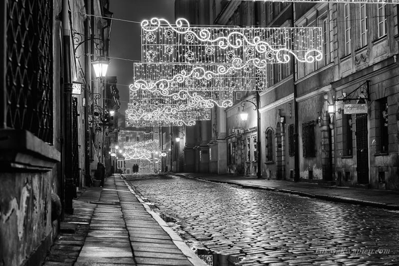 Warszawa nocą | fotograf ślubny